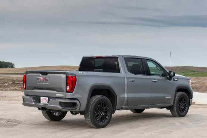 2020 GMC Sierra 1500 Elevation up close and personal