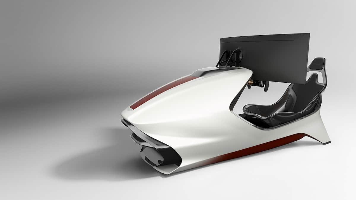 Aston Martin AMR-C01 Racing Simulator Cockpit 14
