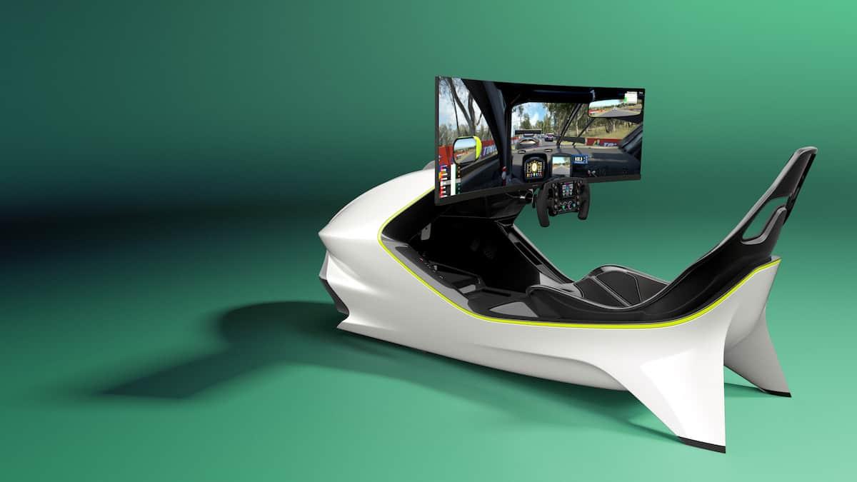 Aston Martin AMR-C01 Racing Simulator Cockpit 16