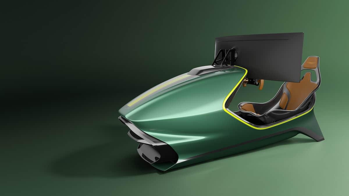 Aston Martin AMR-C01 Racing Simulator Cockpit 7