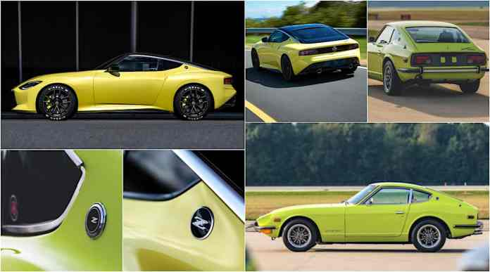 new nissan z car pays homage to classic
