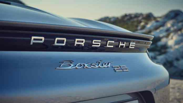 2021 Porsche Boxster 25 years