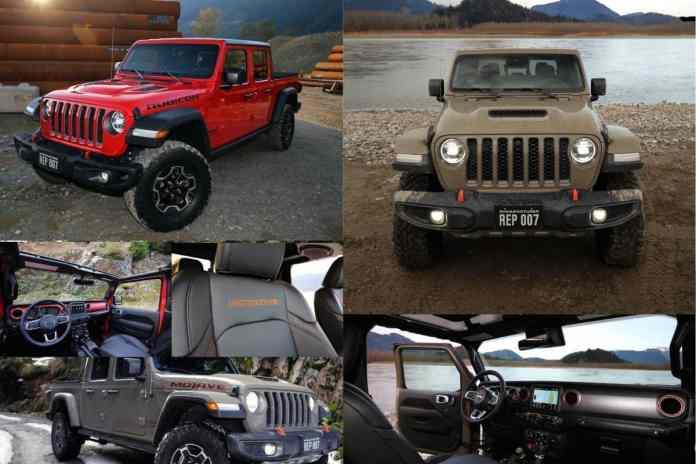Jeep Gladiator Rubicon vs Mojave