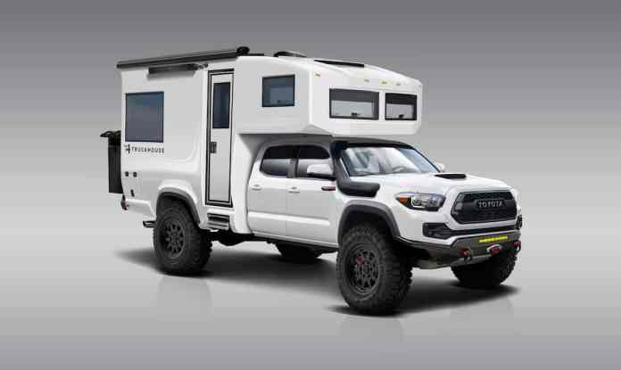 TruckHouse BCT small truck camper front