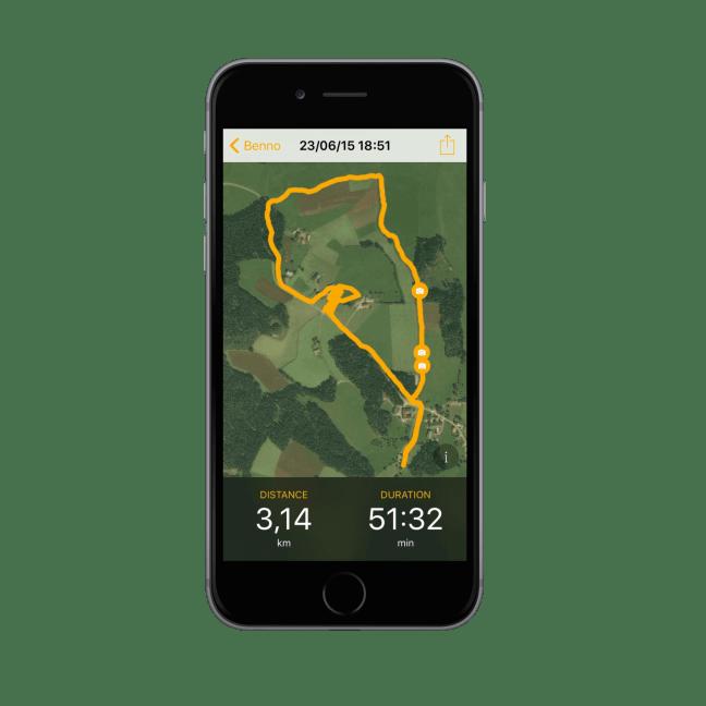 Dogwalk - route