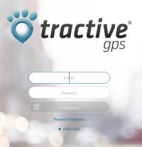 Tractive Webapp - Login