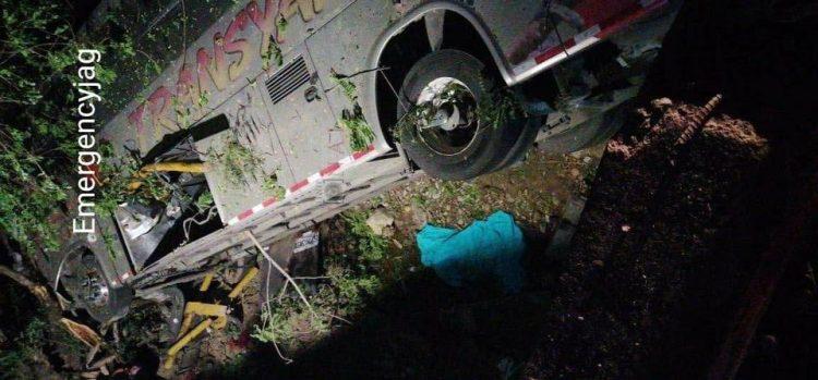 accidente de bus Aipes - Huila