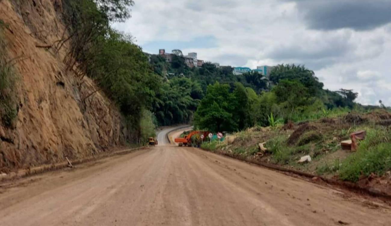 Vía La Romelia - El pollo