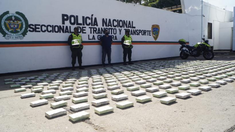 cargamento cocaína en tractomula