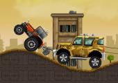 jeu de remorquage en tracteur