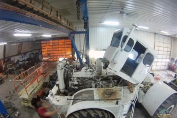 restauration d'un vieux tracteur big bud