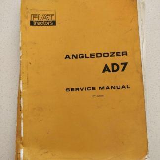 fiat angledozer ad7 service manual