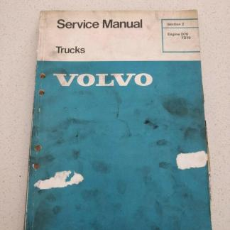 volvo trucks service manual d70 td70 section 2