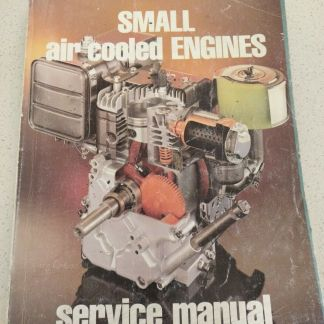 Small Air Cooled Engines Service Manual