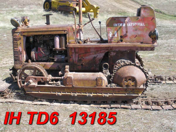 Parts International Td6 Dozer