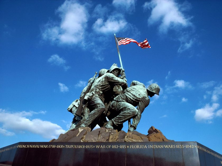 Iwo Jima Memorial, Arlington National Cemetery, Washington, D.C.