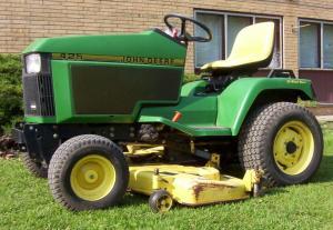 John Deere 320 Lawn Tractor Attachments | Zef Jam
