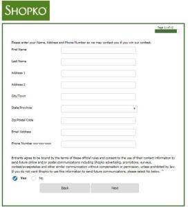 Shopko Customer Satisfaction Survey