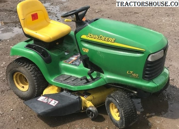 john deere lt160 lawn tractor