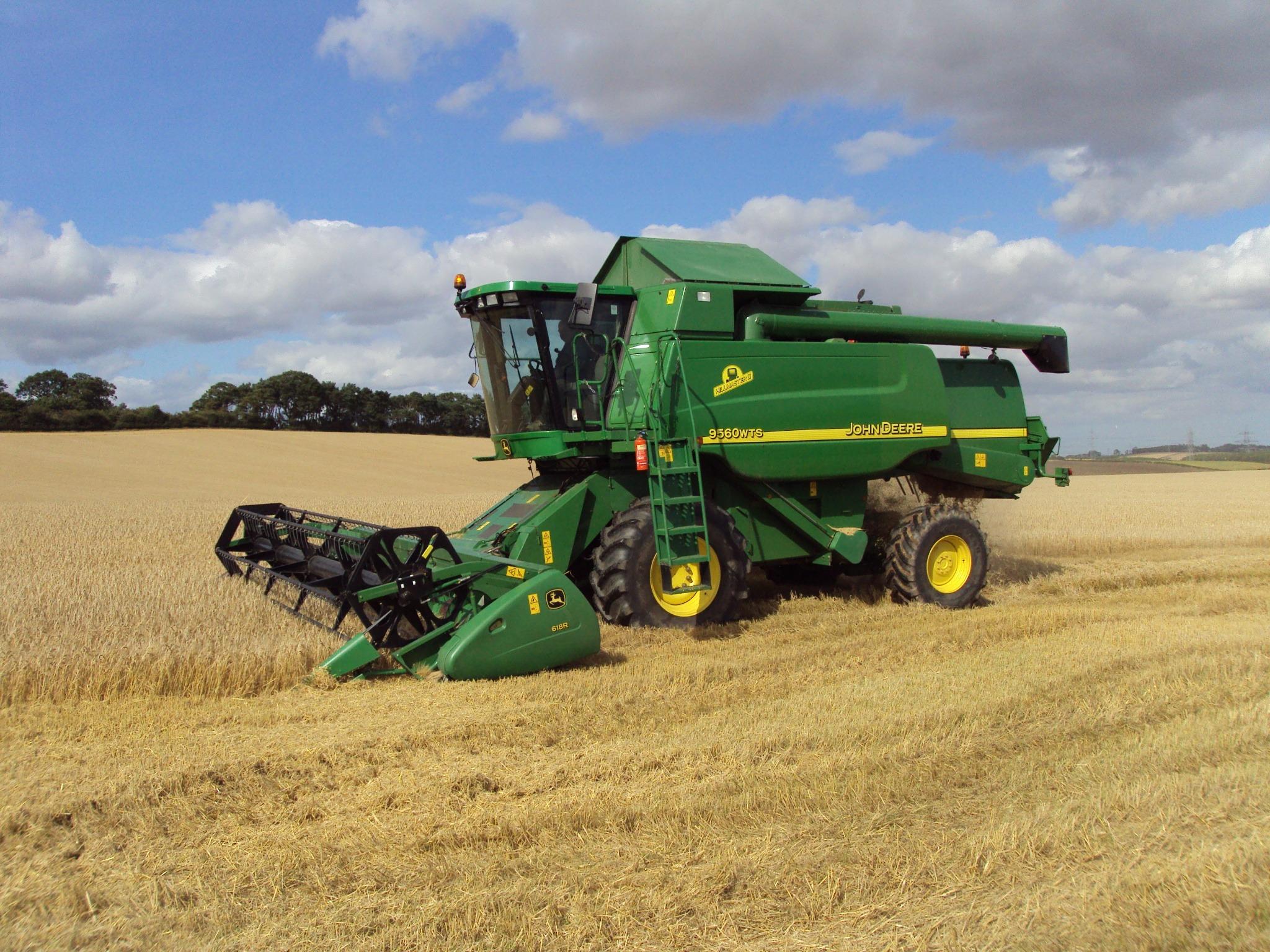 Boys John Deere Harvester