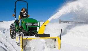 John Deere 1025r Snow Blower