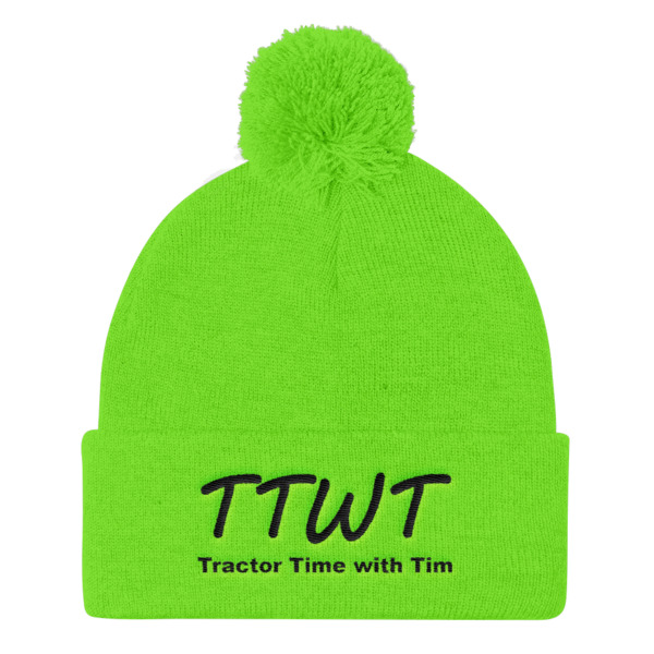 TTWT Pom Pom Knit Cap