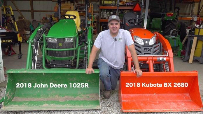 Kubota BX vs. Deere 1025R – Round #1 – 3 Point Hitch