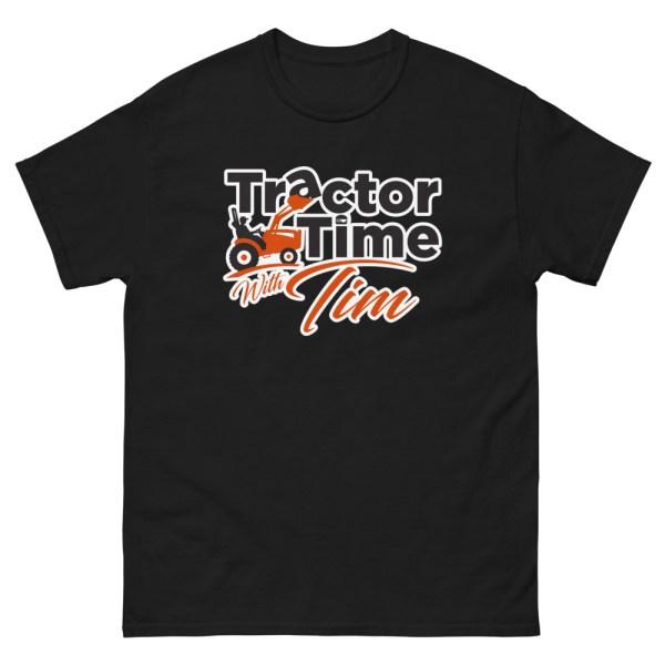 Heavyweight Unisex TTWT Tee – Orange Logo
