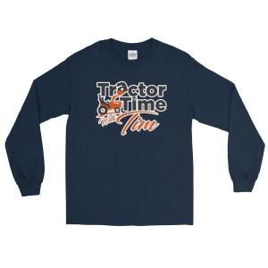 Unisex Long Sleeve TTWT Shirt – Orange Logo