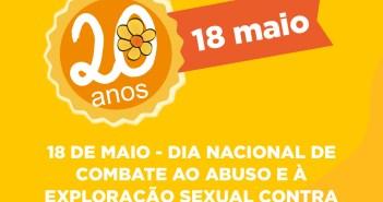 Dia Nacional de Combate ao Abuso e à Exploração Sexual Contra Criança e Adolescente