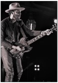 Gary Clark Jr with Gibson SG, Warehouse Live, Houston, March 2016