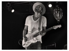 Gary Clark Jr at Warehouse Live, Houston, TX March 2016 with Fender Stratocaster