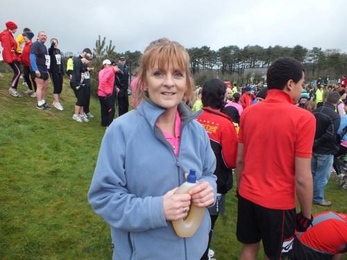 Feeling nervous before my first half marathon at Llanelli