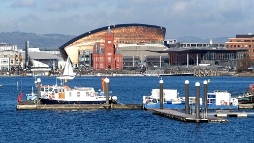 Cardiff Bay, where I almost gave up in 2012