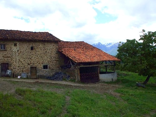One of many abandoned houses in the Picos de Europa, northern Spain