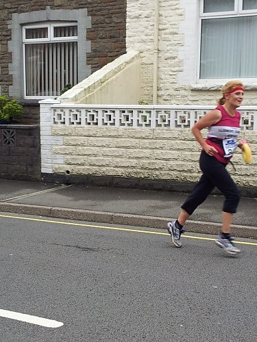 Some of us are just too fast for the photographer (at the Caerphilly 10k)