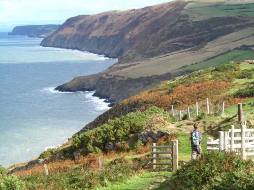 The magnificent Ceredigion coastline