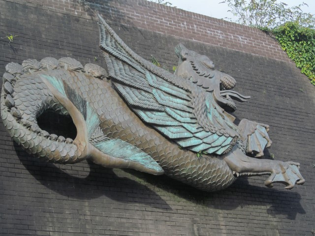 In dire need of a good clean - does anyone even remember when our dragon was erected?