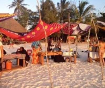 A local market in Zanzibar