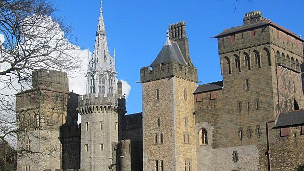 Cardiff - a castle built over many centuries