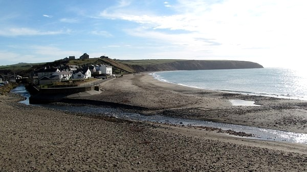 ... the 'long shore by the village' that R S Thomas wrote about