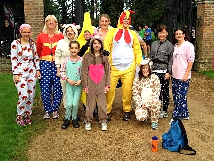 There's always some excuse to dress up at parkrun