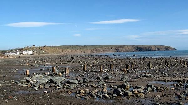Aberdaron at low tide