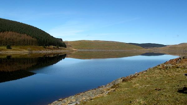 Nant-y-moch reservoir, Pumlumon