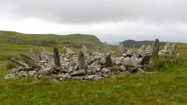 Bronze burial chamber