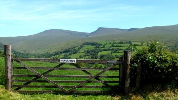 Carmarthen Fans, Beacons Way, Brecon Beacons