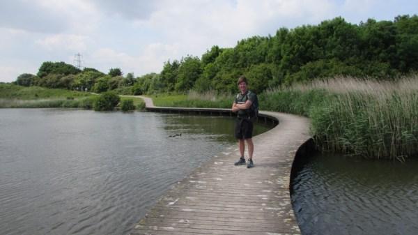 Harri at Lamby Lake