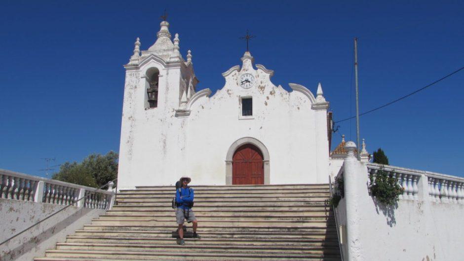 The 15th century church in Vaqueros