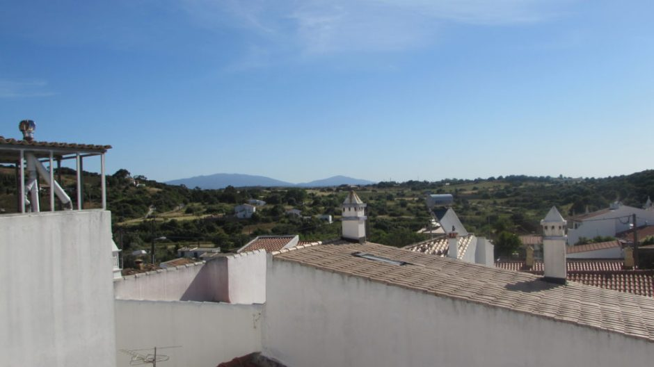 Looking back towards the Serra de Monchique