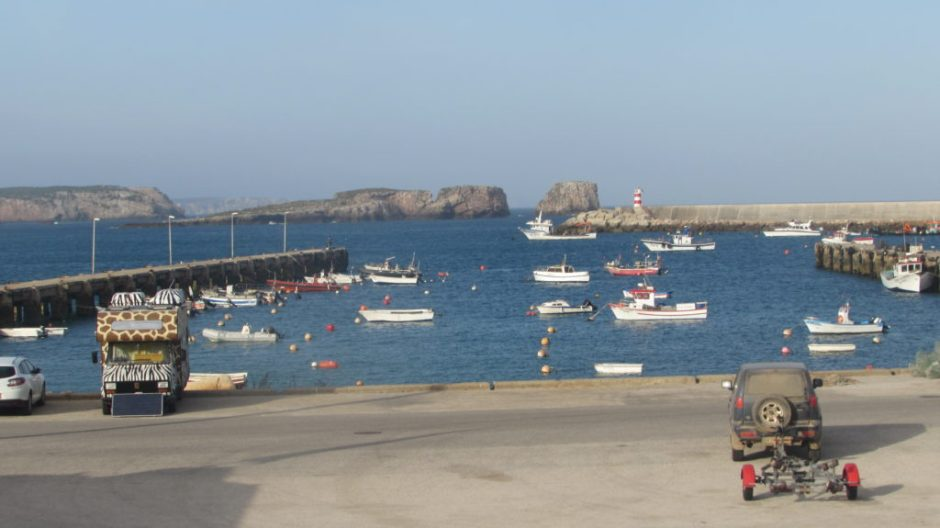 The old harbour at Sagres